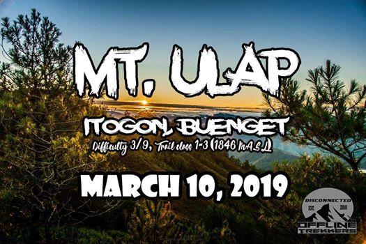 Mt. Ulap Eco-trail  Baguio Side trip March 10