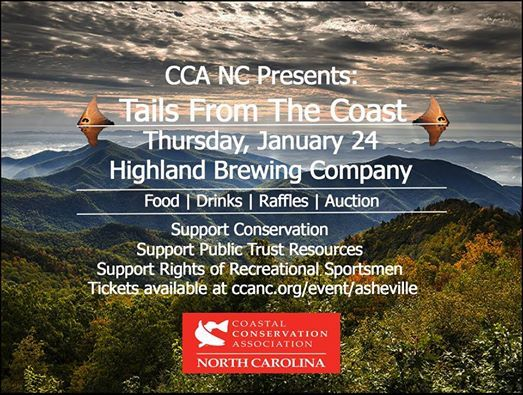 CCA NC Presents Tails From The Coast