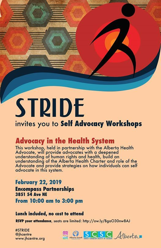 Stride Calgary Advocacy in Health Systems