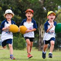 Rugbytots on Southbourne Beach - Summer Holidays