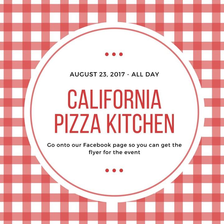 California Pizza Kitchen Proceed Night