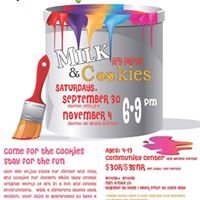 Milk &amp Cookies Art Party (theme is All About Animals)