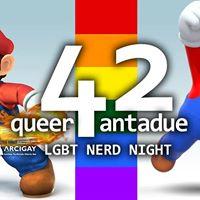 Queerantadue - The nerd night 1x08  Super Smash Bros 2
