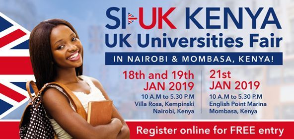Meet 35 UK Universities - Biggest Education Fair in Mombasa