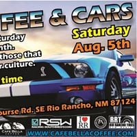 Cafe Bella Coffee and Cars August 2017 Edition