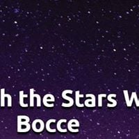 An Evening with Stars Wine and Bocce
