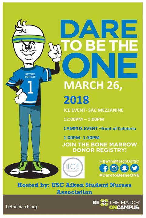 Be The Match On Campus At Usc Aiken Aiken
