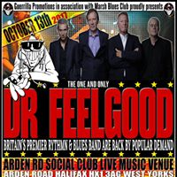 Dr Feelgood live on stage in Halifax