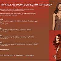 Paul Mitchell Color Correction Workshop