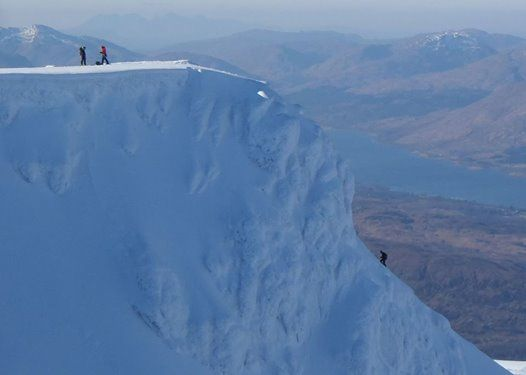 Scotland Winter Skills Training IV Ben Nevis CIC