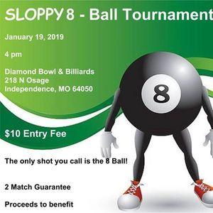 2019 Sloppy 8 Ball Tournament At Diamond Bowl Independence
