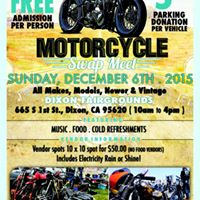 dixon motorcycle swap meet 2015