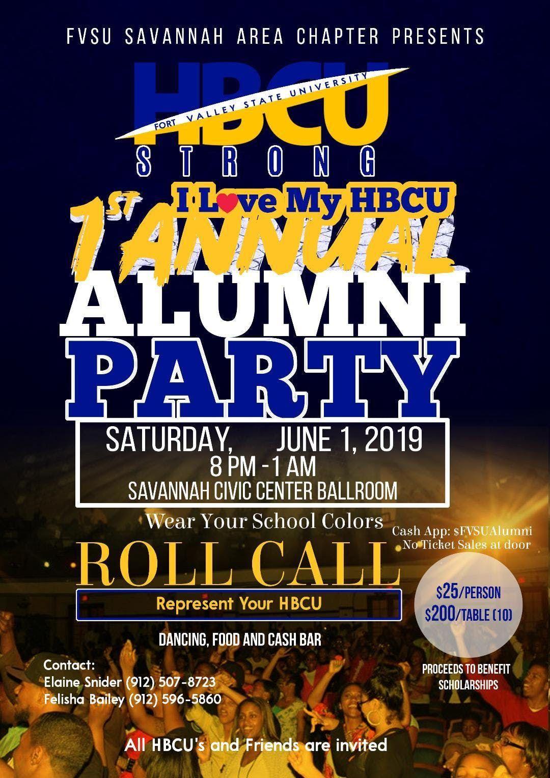 HBCU Strong Alumni & Friends Party