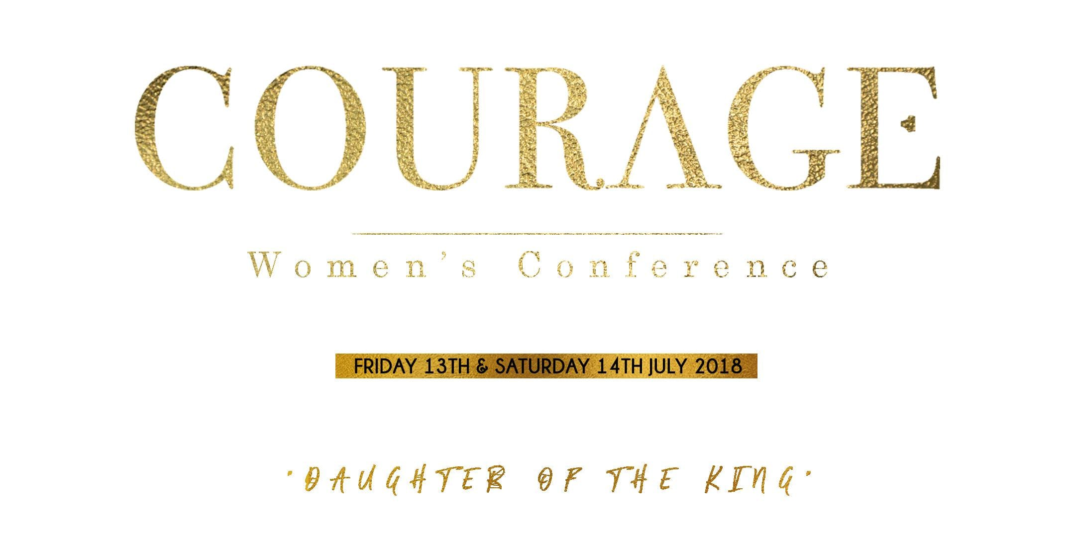 Courage Womens Conference 2018