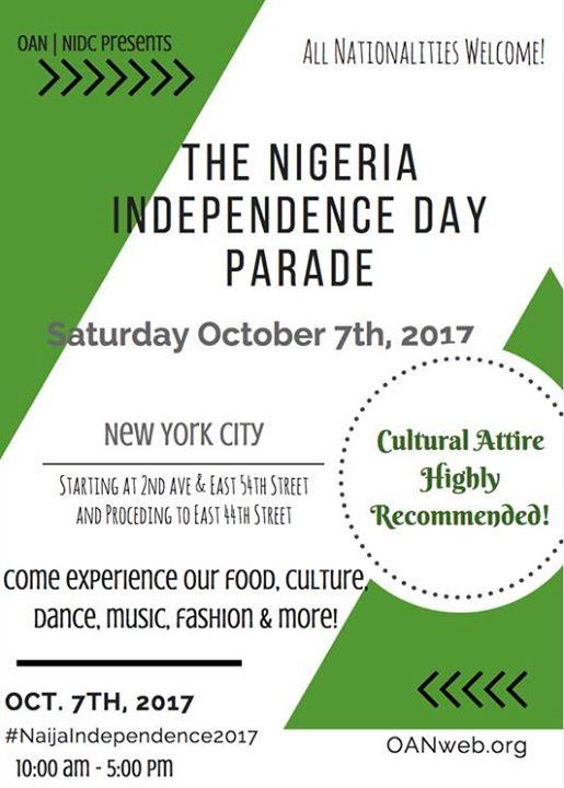 2017 Nigeria Independence Day Parade