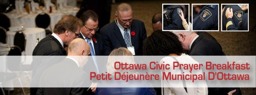 Ottawa Civic Prayer Breakfast 2018