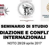 Mediazione e conflitti internazionali - Seminario di studio