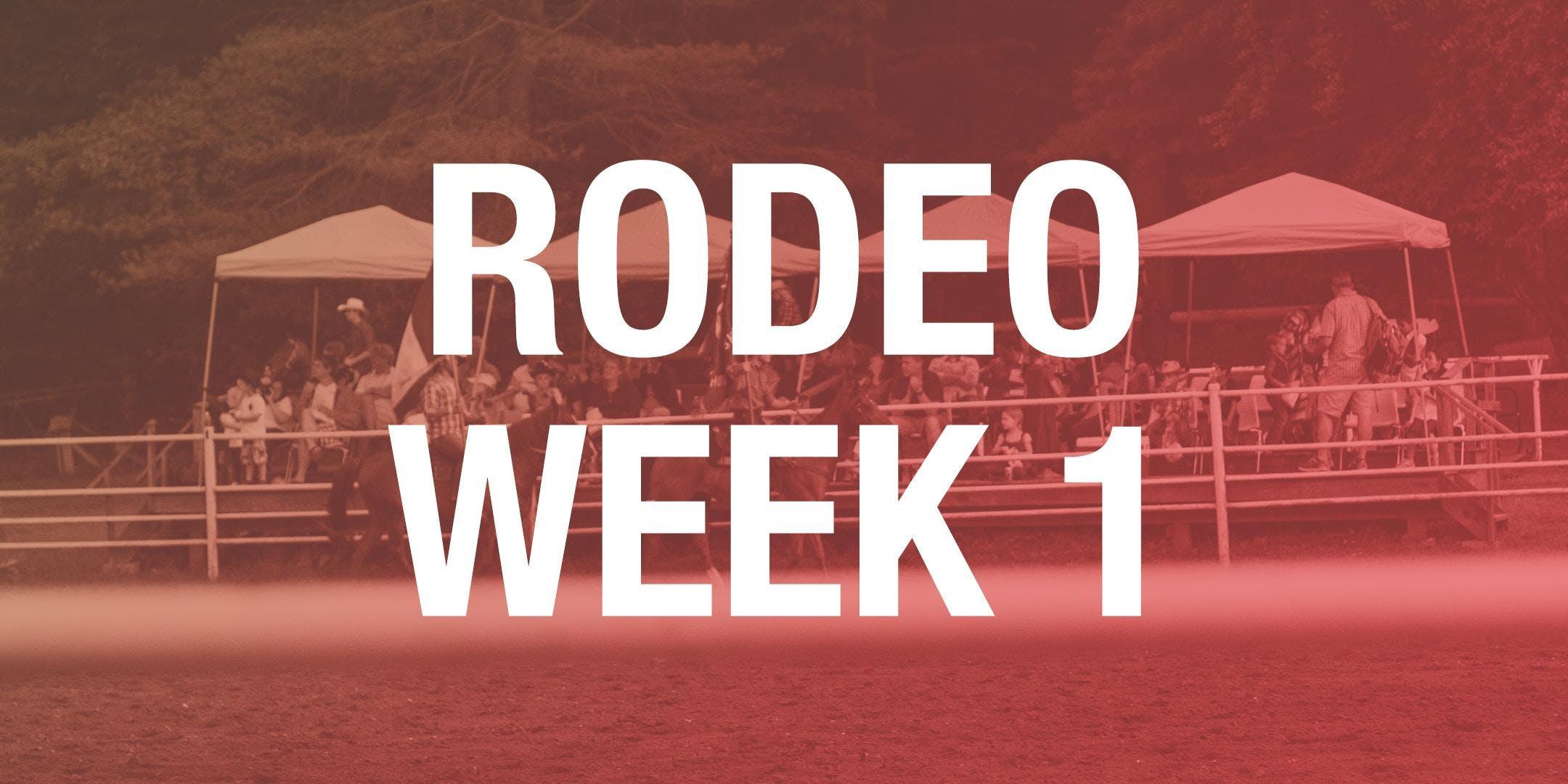 Rodeo Box Seats - Week 1 2018