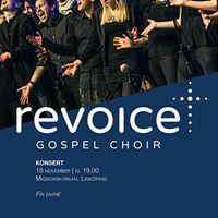 Konsert med Revoice Gospel Choir