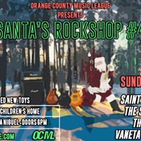 OCML Presents Santas Rockshop with LAW Sapien Special Guests