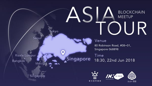 Asia Blockchain Meetup Tour 2018 - Singapore