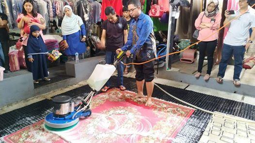 Workshop A-Z Mengenai Bisnis Laundry Karpet