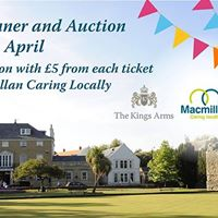 Macmillan Caring Locally Charity Auction &amp Dinner