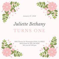 JULIETTE TURNS ONE