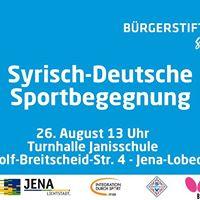 Syrisch-Deutsche Sportbegegnung