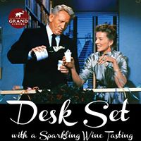 Sold Out Sparkling Wine Tasting inspired by Desk Set
