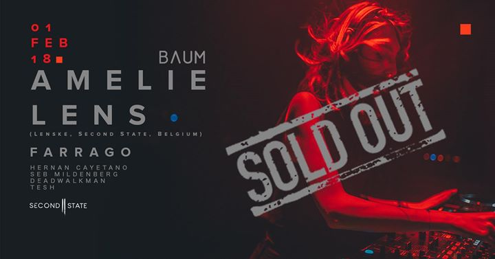 BAUM 031 w Amelie Lens - SOLD OUT
