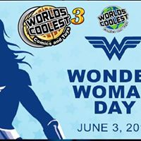 Wonder Woman Day &amp Free Waffle Day 3 at Worlds Coolest
