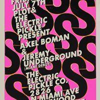 Axel Boman &amp Jeremy Underground
