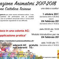 Formazione per animatori ACT