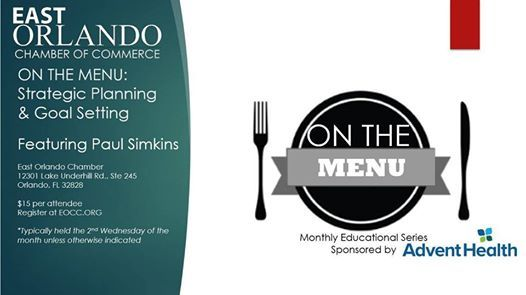 EOCCs On the Menu Educational Series