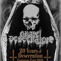 Grave Desecrator (BRA) - Chorzw Red &amp Black