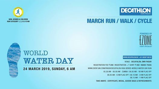 Decathlon RUN Series - World Water Day Run