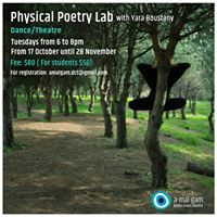 Physical Poetry Lab with Yara Boustany