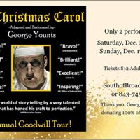 A Christmas Carol starring George Younts