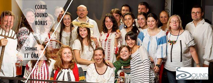 Sound krus a Nyitott kapukon  Concert coral Sound n cadrul Porilor deschise la unitarienii din Cluj