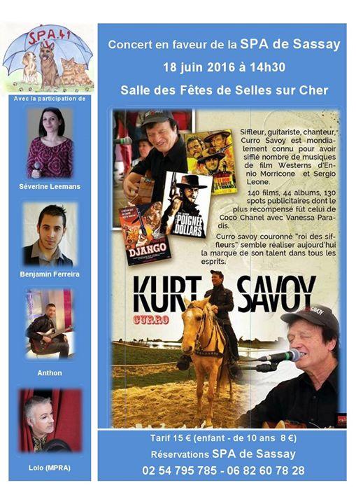 Concert Pour La Spa De Sassay 41 At Selles Sur Cher Salle Des