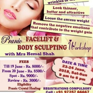 Pranic Facial and Pranic Body sculpting workshop