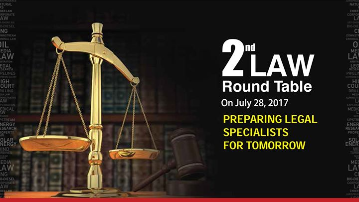 UPES - 2nd Law Round Table Conference