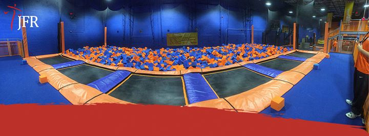 sportcommissie: trampoline springen at jump xl trampoline park