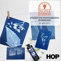 Cyanotype Printing Shopee Studios x House of Photography