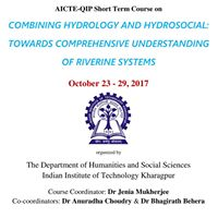 SHORT TERM Course on &quotCombining Hydrology and Hydrosocial&quot