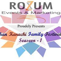 Roshan Karachi Family Festival Season 1 At Kmc Sports Complex Karachi