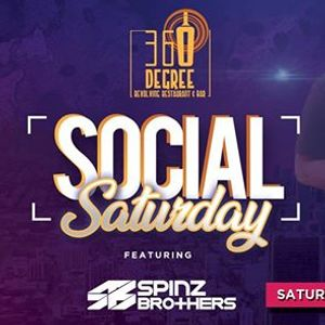 Social Saturday featuring Spinz Brothers