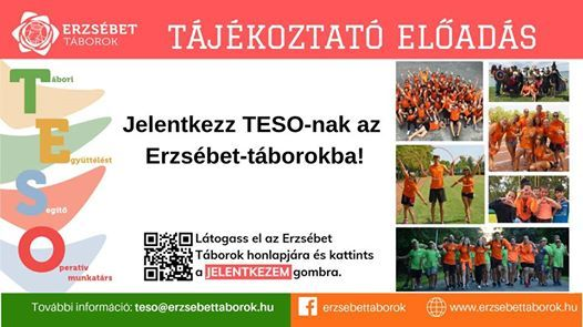Legyél Te is TESO - Tájékoztató és toborzó előadás at SZTE