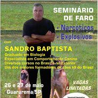Seminrio de Faro - Narcticos e Explosivos